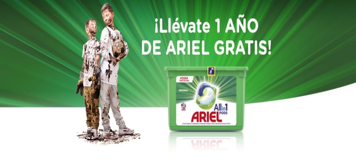 Gana Ariel Para Todo El Año