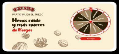 Participa En El Sorteo De Más Nueces Y Menos Ruido De Borges Y Gana Fabulosos Premios
