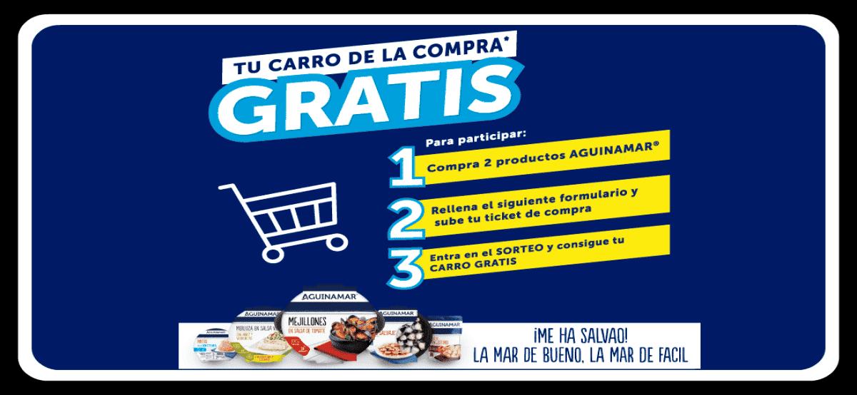 Compra Aguinamar Y Participa En Sorteo De Carros Y Cestas Valoradas Entre 50 Y 100 Euros