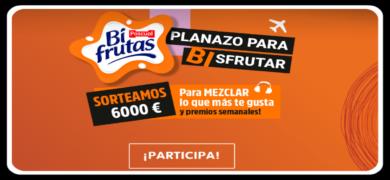 Compra Bifrutas Zero Y Participa Por Un Cheque De 6000€ Y Premios Cada Semana