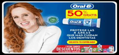 Consigue 50 De Descuentos Para Oral B Y Gana Productos Gratis