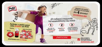 Deja Volar La Imaginación De Tu Peque Y Gana Premios Pritt En Tu Casa Club