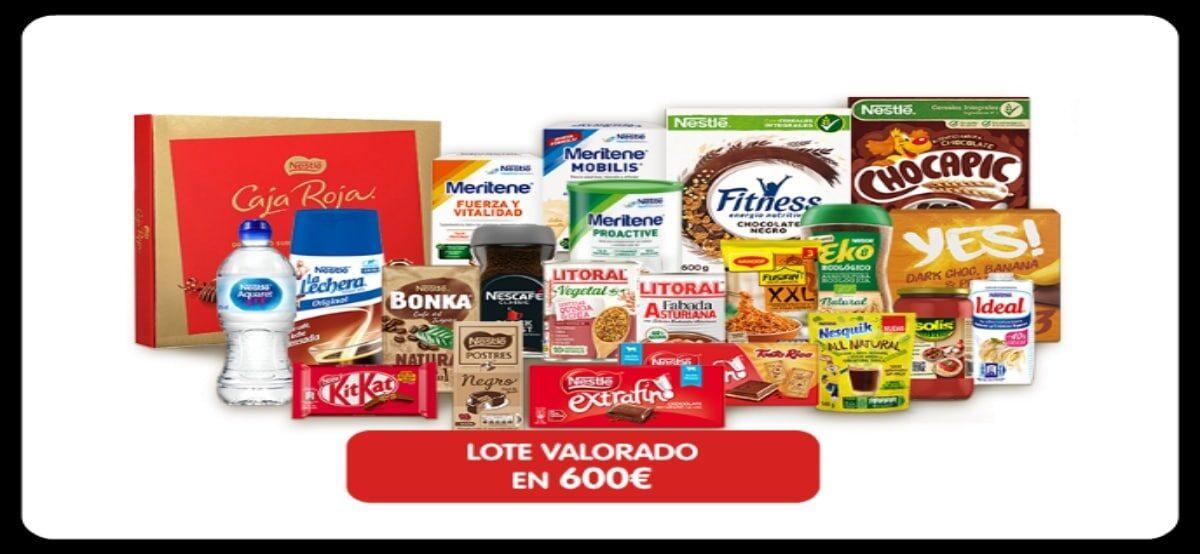 Gana Lotes De Productos Nestlé