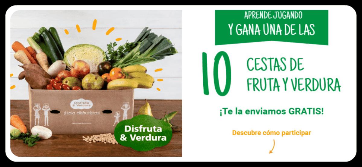 Gana Una Cesta De Verduras Y Frutas Con Nestlé