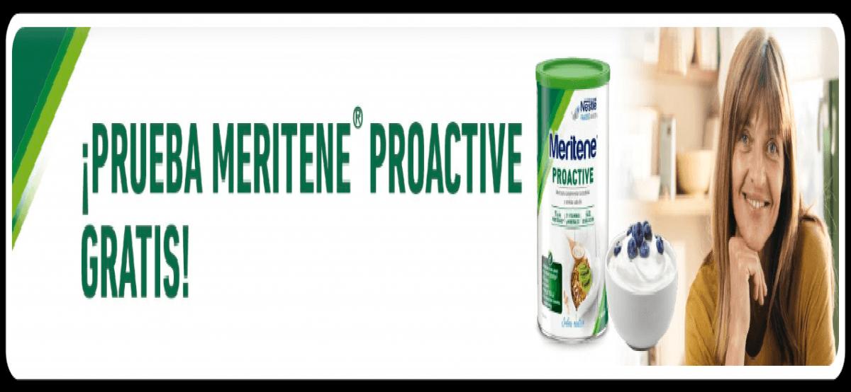 Prueba Gratis Meritene Proactive