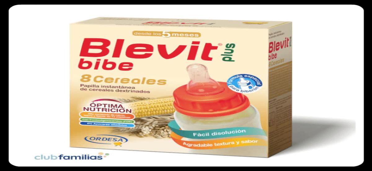 Prueba Gratis El Nuevo Blevit Bibe 8 Cereales
