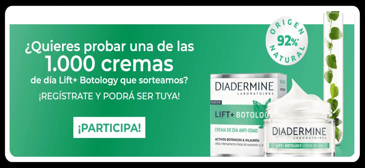 Sorteo De 1000 Diadermine Lift+ Botology