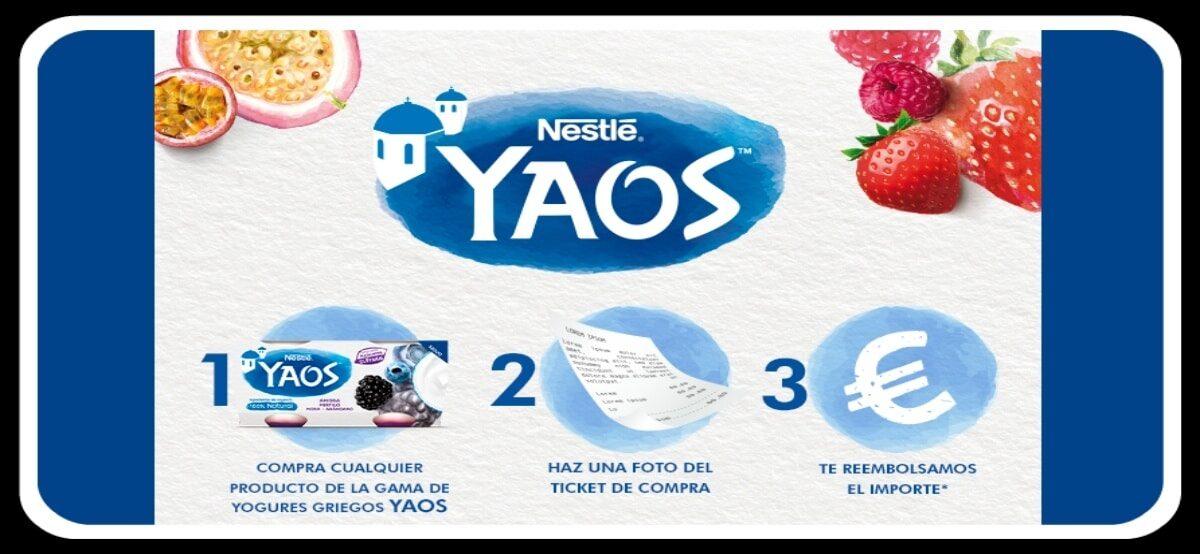 Yaos De Nestlé Ofrece 3.000 Pruebas Gratis