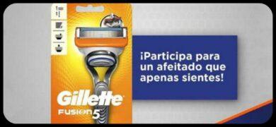 Consigue Una Máquina De Afeitar Gillette Fusion 5