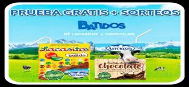 Prueba Los Batidos De Chocolate Y Lacasitos De Lechera Asturiana