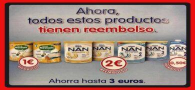 Consigue Tu Reembolso De Nan Y Nestum