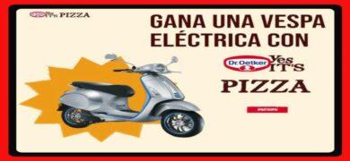 Gana Una Vespa Eléctrica Por Compras De Pizzas En Dr. Oetker