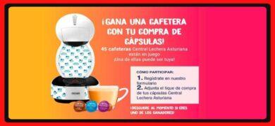 Compra Cápsulas De Central Lechera Asturiana Y Gana Una Fabulosa Cafetera