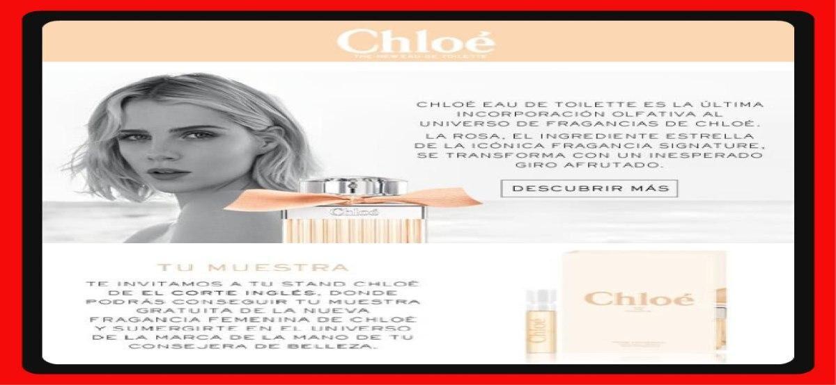 Nueva Fragancia Chloé De La Vie Est Belle Gratis