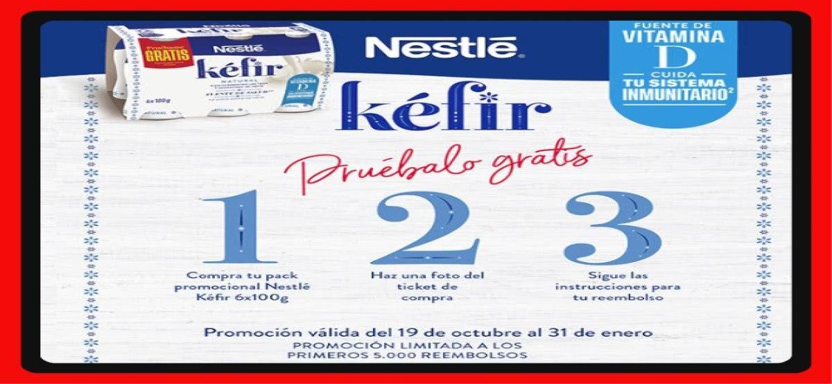 Reembolso De Nestlé Para Kéfir Natural