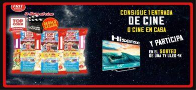 Sensaciones Y Experiencias Te Invitan A Comprar Palomitas Para Ganar 1 Televisor Uled Tv