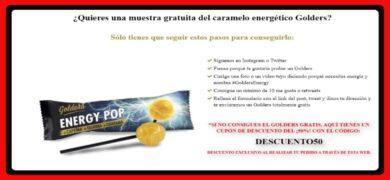 Prueba Gratis Los Caramelos Golders Energy Pop