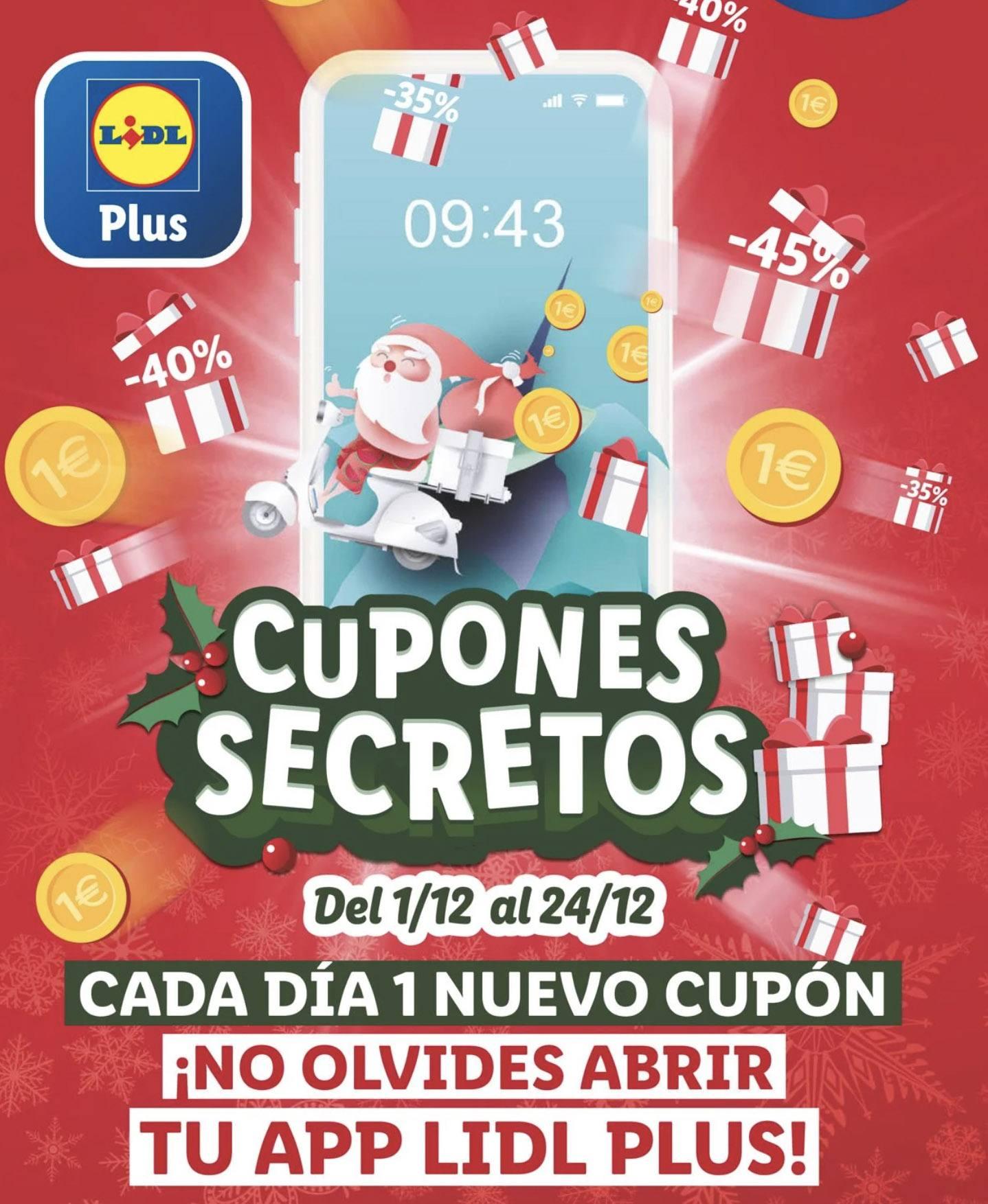 Cupones Lidl Secreotos Navidad