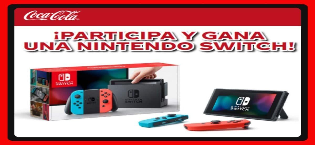 Coca Cola Sortea Nintendos Switch