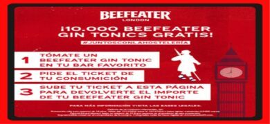 Consigue Hasta 10€ Tomando Beefeater Dry Y Beefeater Pink