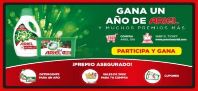 Ariel Sortea 1.230 Premios