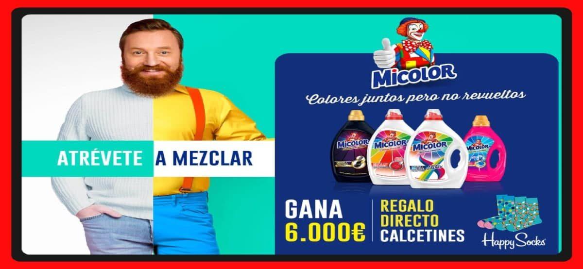 Consigue Calcetines Todos Los Días Con Micolor Y Participa Por 6000 Euros