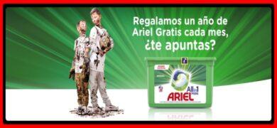 Gana 1 Año De Ariel Gratis
