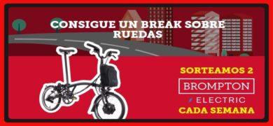 Gana Bicicletas Brompton Con Kitkat