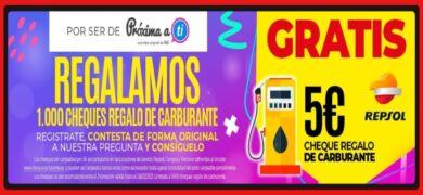 Próxima A Ti Regala Cheques De 5€para Carburantes