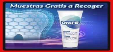 Recoge Muestras De Oral B Gratis