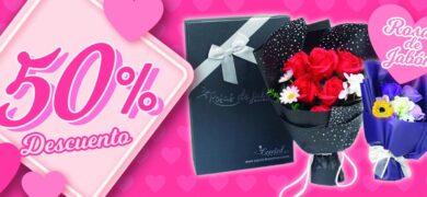 Rosas Jabon San Valentin