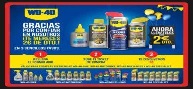 Compra Productos Multi Usos Wd 40 Y Consigue Reembolsos