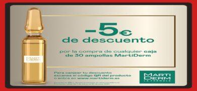Descuentos De 5€ Para Martiderm En Ampollas