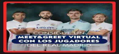 Gana Experiencias Meet & Greet Y Camisetas Gratis Del Real Madrid