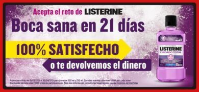Listerine Ofrece 2000 Reembolsos