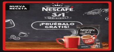 Prueba Gratis El Nuevo Nescafé 3 En 1