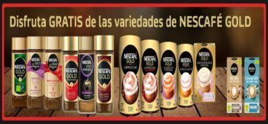 Prueba Gratis La Nueva Gama De Nescafé Gold