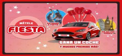 Gana Viajes A Europa 1 Carro Ford Fiesta