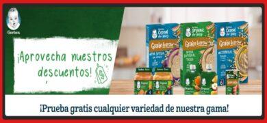 Consigue Reembolsos De Hasta 5€ Para Los Productos Gerber
