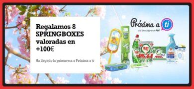 Consigue Springboxes Con Próxima A Ti