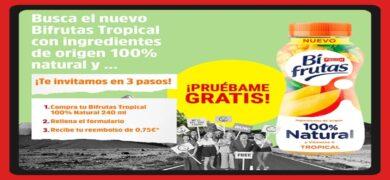 Consigue Reembolsos Por La Compra Del Nuevo Bifrutas Tropical