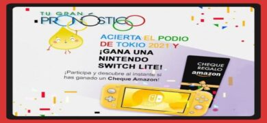 Gana 1 Nintendo Switch Lite Y Cheques Amazon Con Sigaus