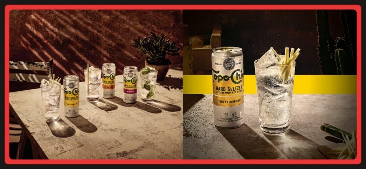 Prueba Gratis Las Nuevas Bebidas Topo Chico Hard Selterz