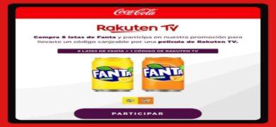 Compra Bebidas Fanta Y Consigue Gratis Códigos Rakuten