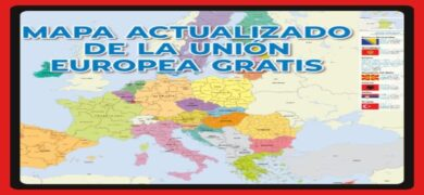 Consigue Gratis Tu Mapa Europeo