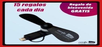 Consigue Mini Ventiladores Renfe Y Fabulosos Premios Todos Los Días