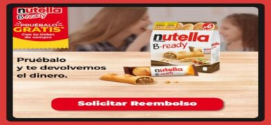 Consigue Reembolso Para Los Nuevos Palitos B Ready De Nuttela
