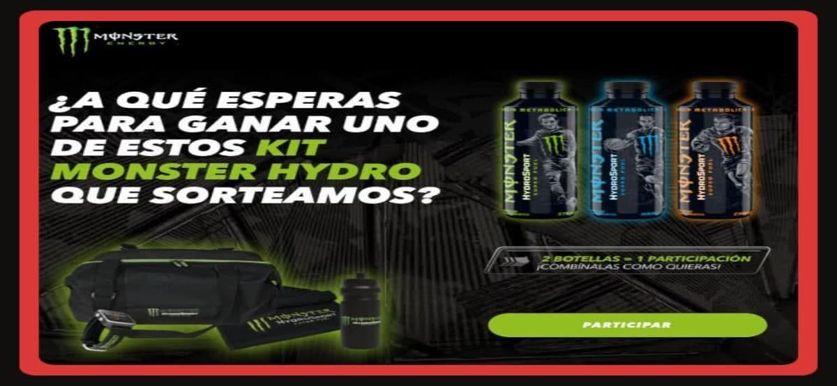 Consigue Kits Deportivos Monster