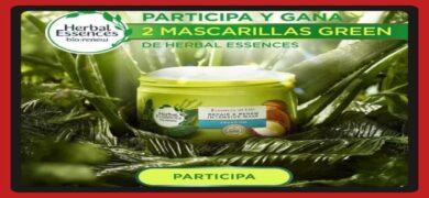 Prueba Gratis Las Mascarrillas Veganas Herbal Essences