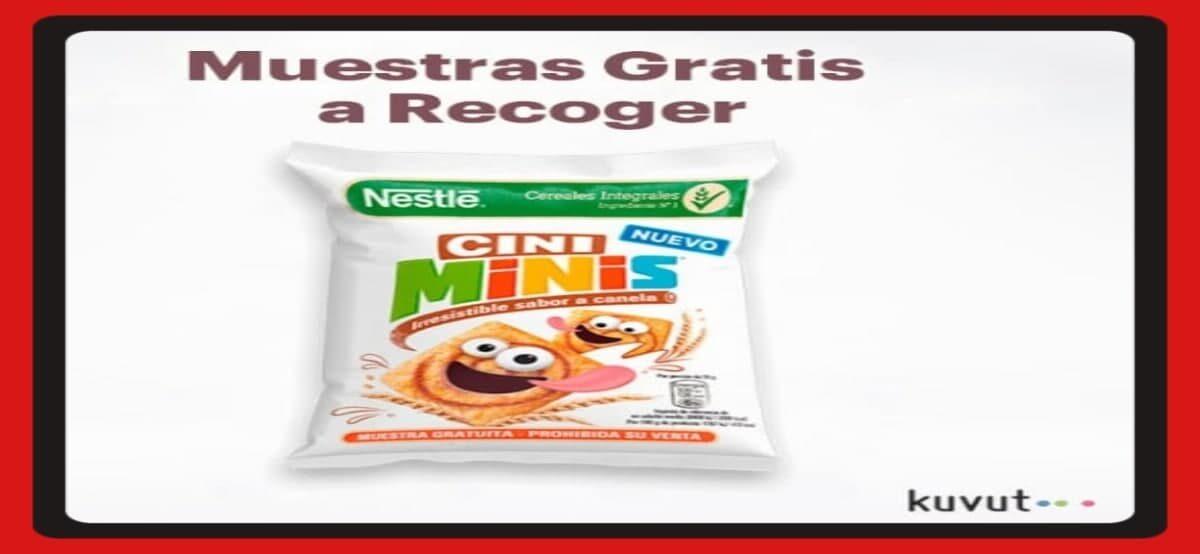 Prueba Gratis Los Nuevos Cereales Cini Minis